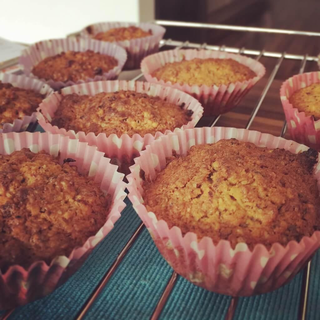 Möhren-Muffins oder auch Möhren-Cupcakes