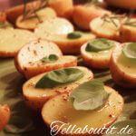 Ofenkartoffeln mit Kräuterdecke