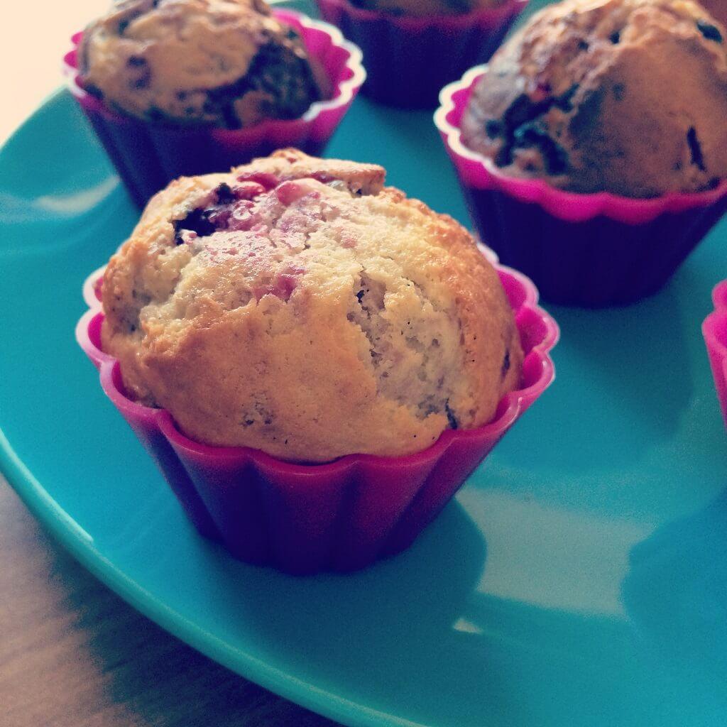 Himbeer-Frischkäse Muffins