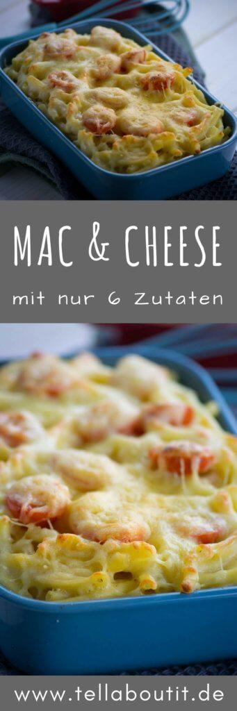 Einfach & hammer lecker. Die Nudeln mit ganz viel Käse schmecken so irre lecker, dass man gar nicht aufhören kann sich von den Mac and Cheese nachzunehmen!
