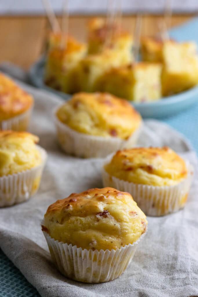Käse Schinken Muffins