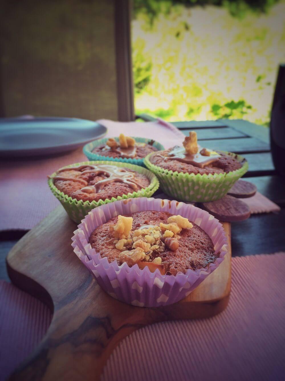 Walnuss Muffins