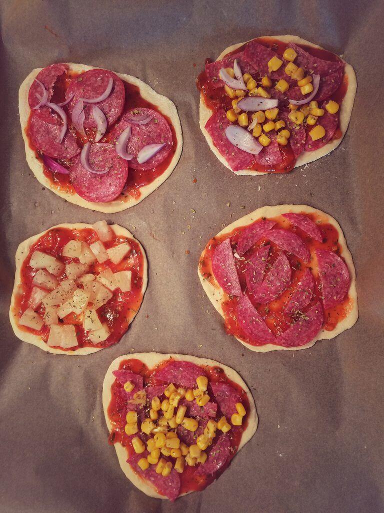 Dinkel Pizzateig