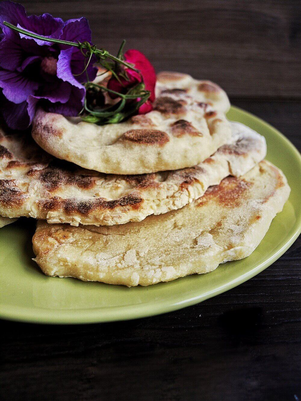 Naan-Brot-Pizza