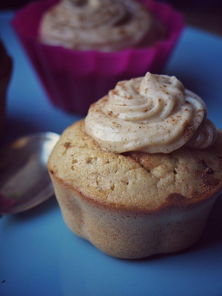 Apfelmus Muffins und Apfelmus Zimt Cupcakes