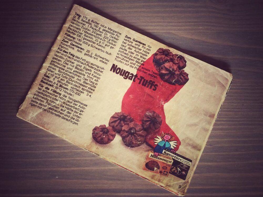Nougat Tuffs mit ganz viel Nutella