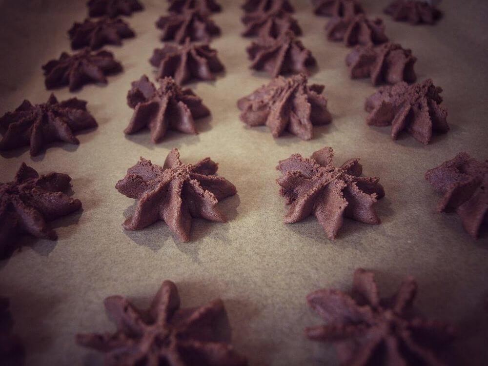 Geliebte Nougat Tuffs - Nutella Weihnachtskekse