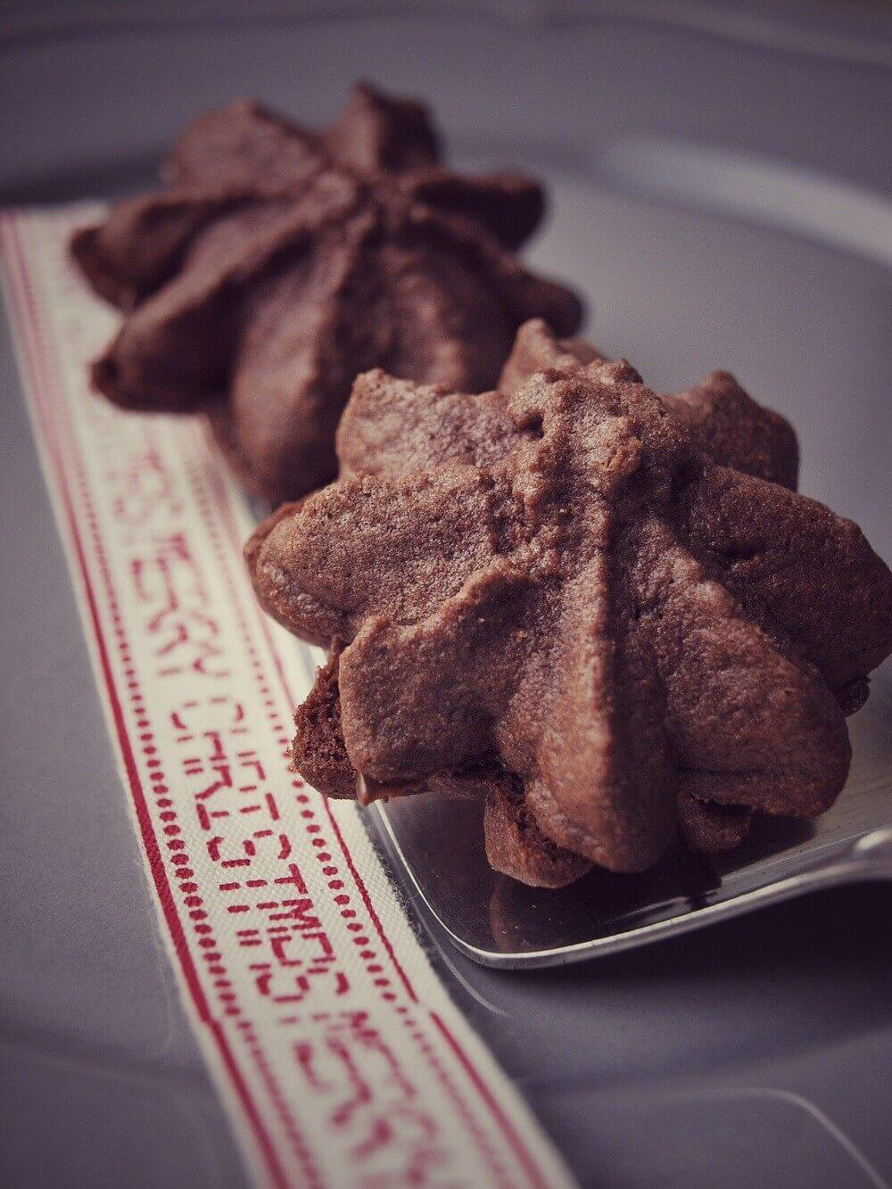 Nougat Tuffs – die besten Nutella Weihnachtskekse (auch für den Thermomix)