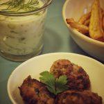 Rezept für türkische Köfte mit Cacik