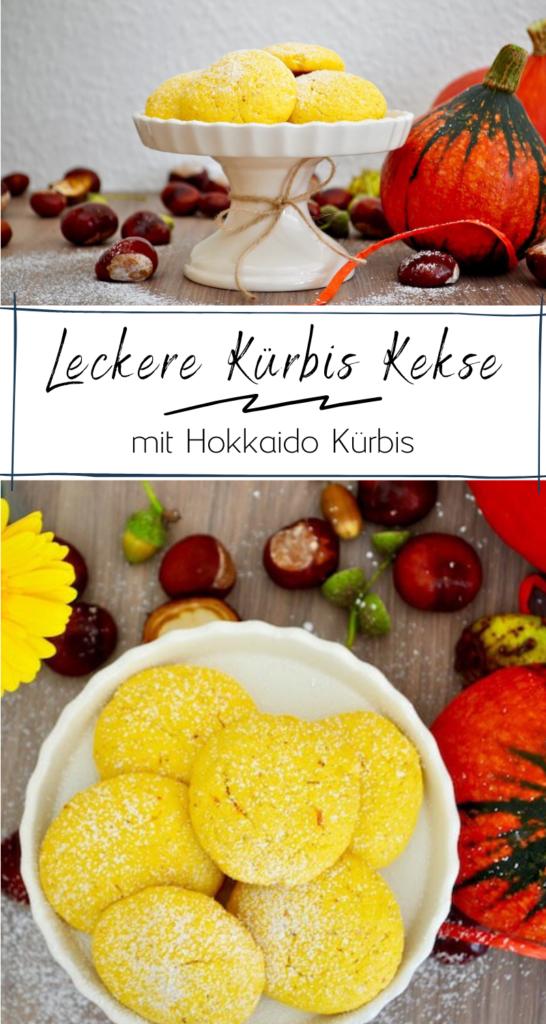 Leckere Kürbis Kekse ganz einfach selber backen - mit Hokkaido Kürbis #herbst #hokkaido #kekse #kürbis