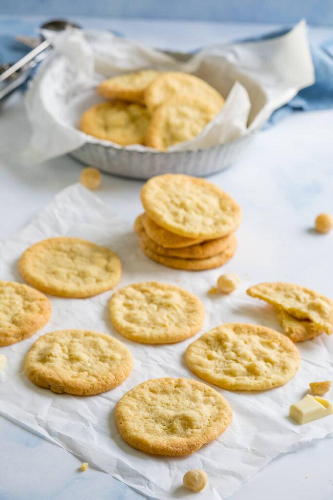 Geniales Rezept für amerikanische Cookies mit Macadamia Nüssen