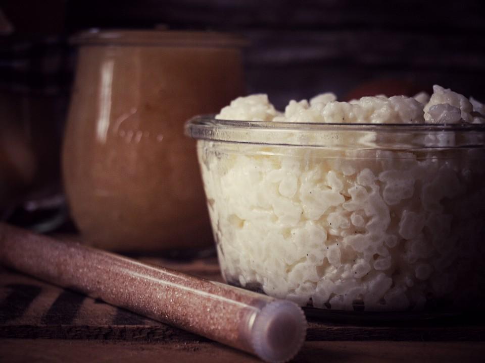 Rezept für Milchreis mit Zimt und Zucker