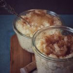 Milchreis mit Zimt und Zucker oder fruchtig mit Apfelmus