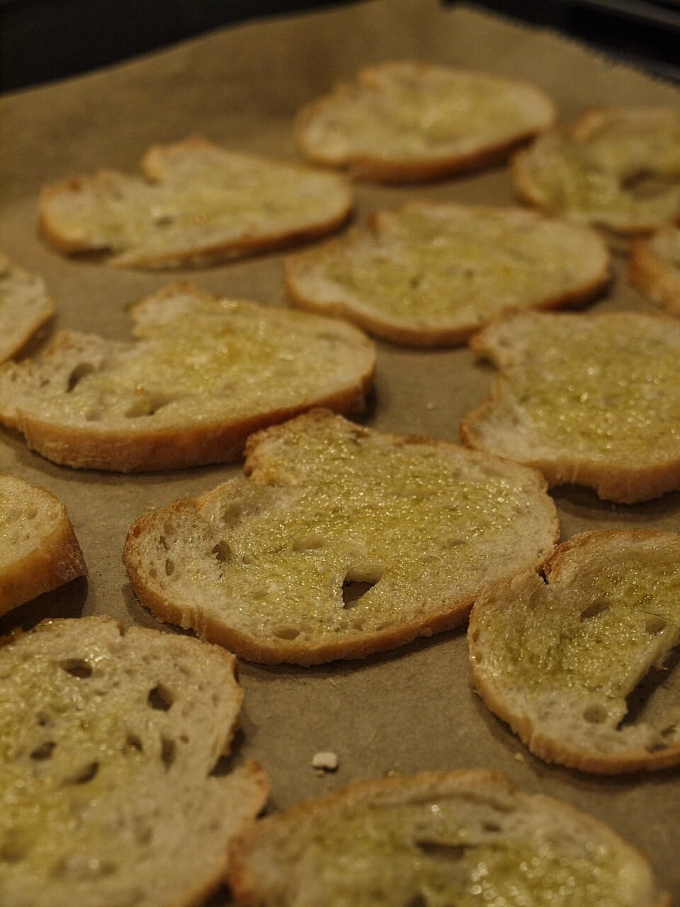 Brotchips backen