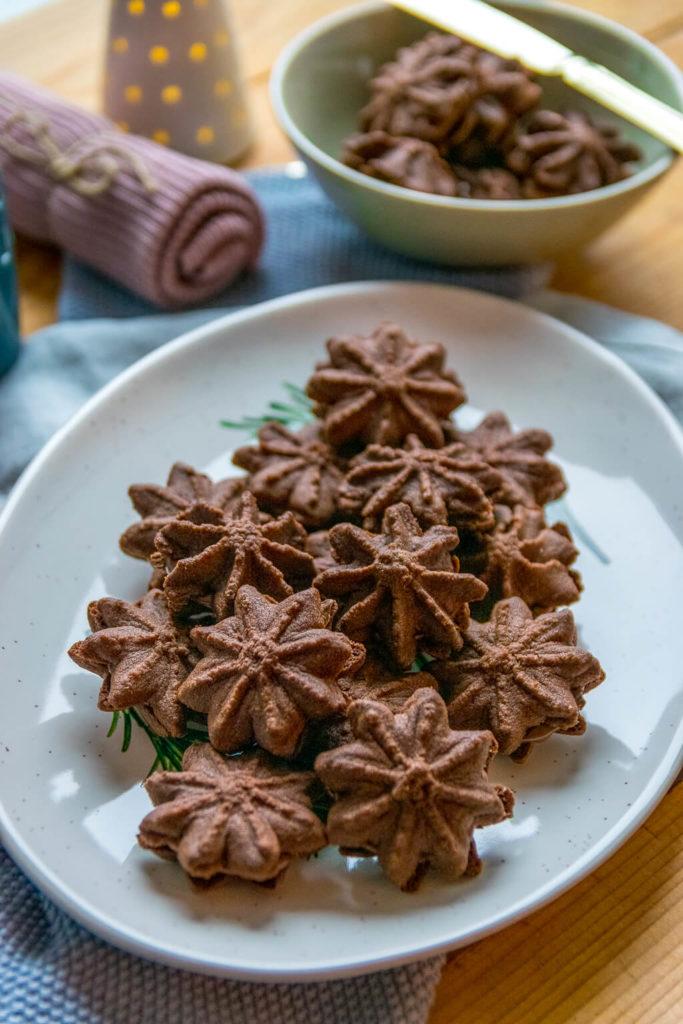So lieben wir die Nougat Tuffs schon immer - Schokokekse mit Nutella