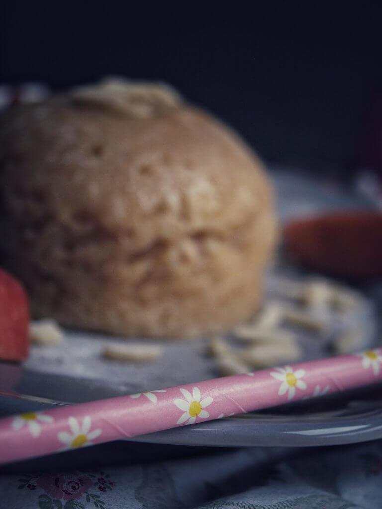 Mikrowellen Kuchen - Apfel Kuchen mit Dinkelmehl aus der Tasse