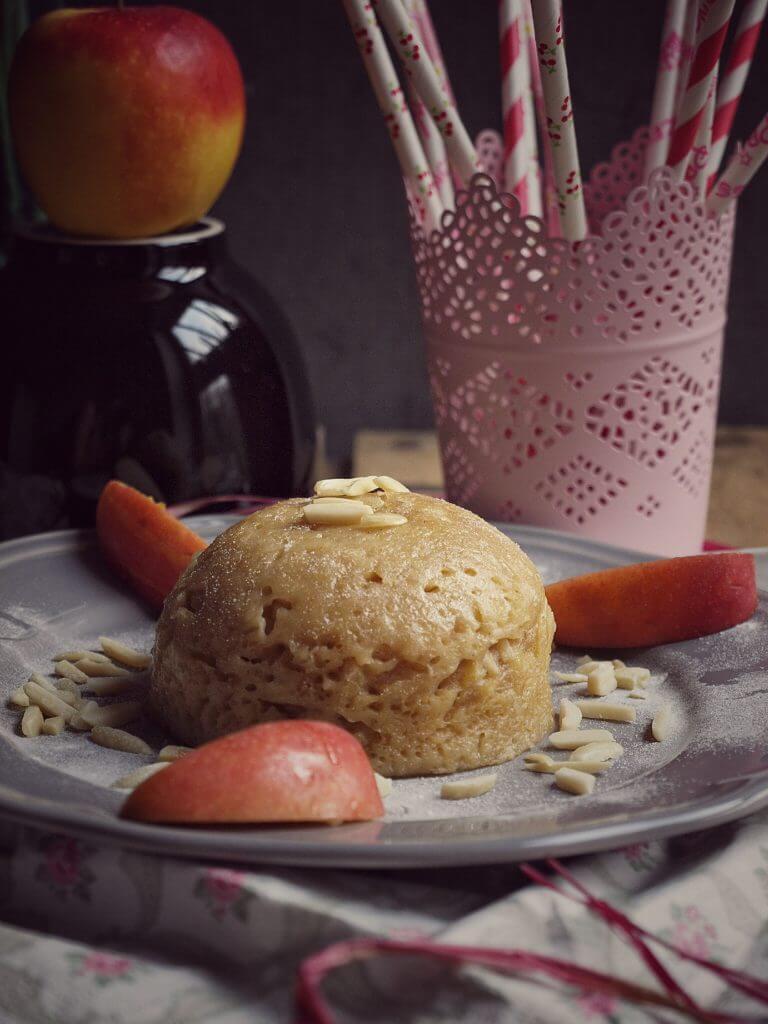 Mikrowellenkuchen - Lecker mit Dinkelmehl