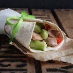 Chicken Teriyaki Wraps mit Honig Senf Dressing + Gewinnspiel