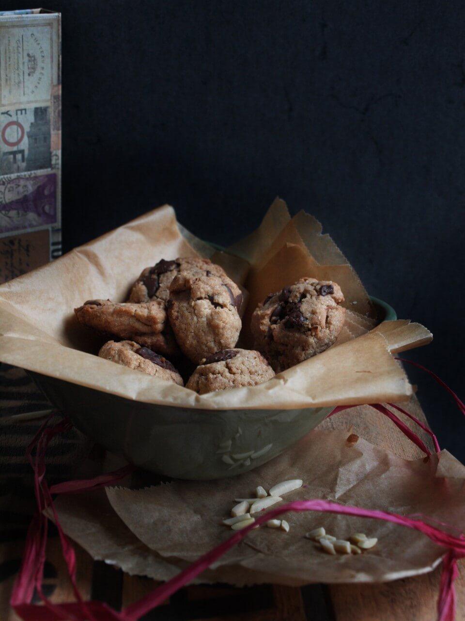 Dinkel Tahini Kekse