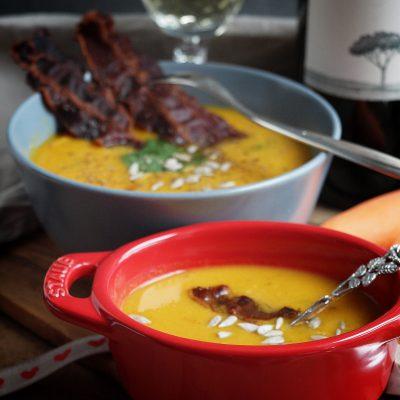 Ingwer Karotten Kokos Suppe für wohltuende Wärme im kalten Winter