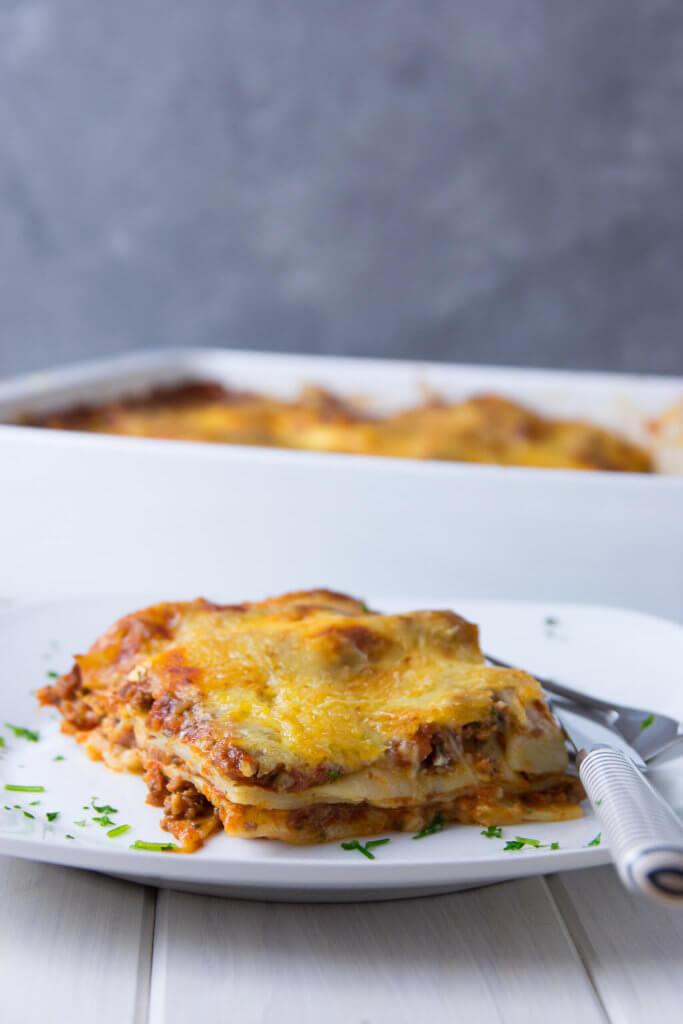 Diese Lasagne ist einfach perfekt und gelingt auch dir garantiert
