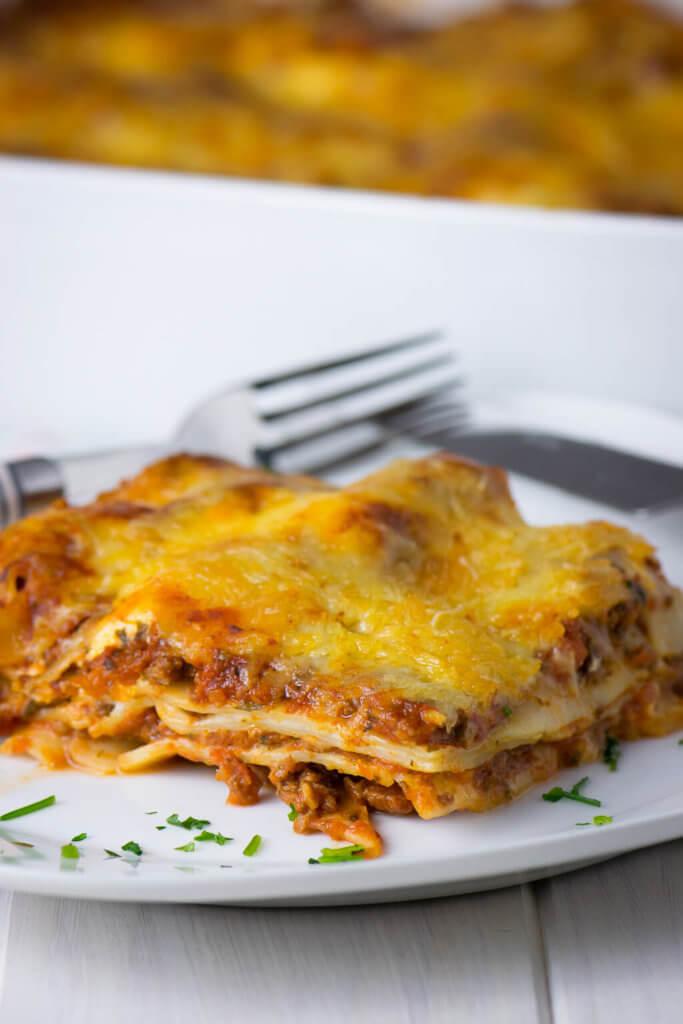 Große Pasta Liebe - Italienische Lasagne leckerer als im Restaurant