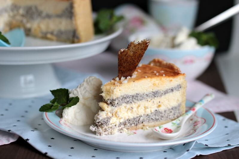 Mascarpone Mohn Torte