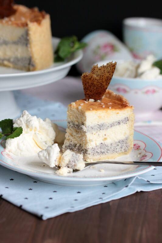 Mascarpone-Mohn-Torte