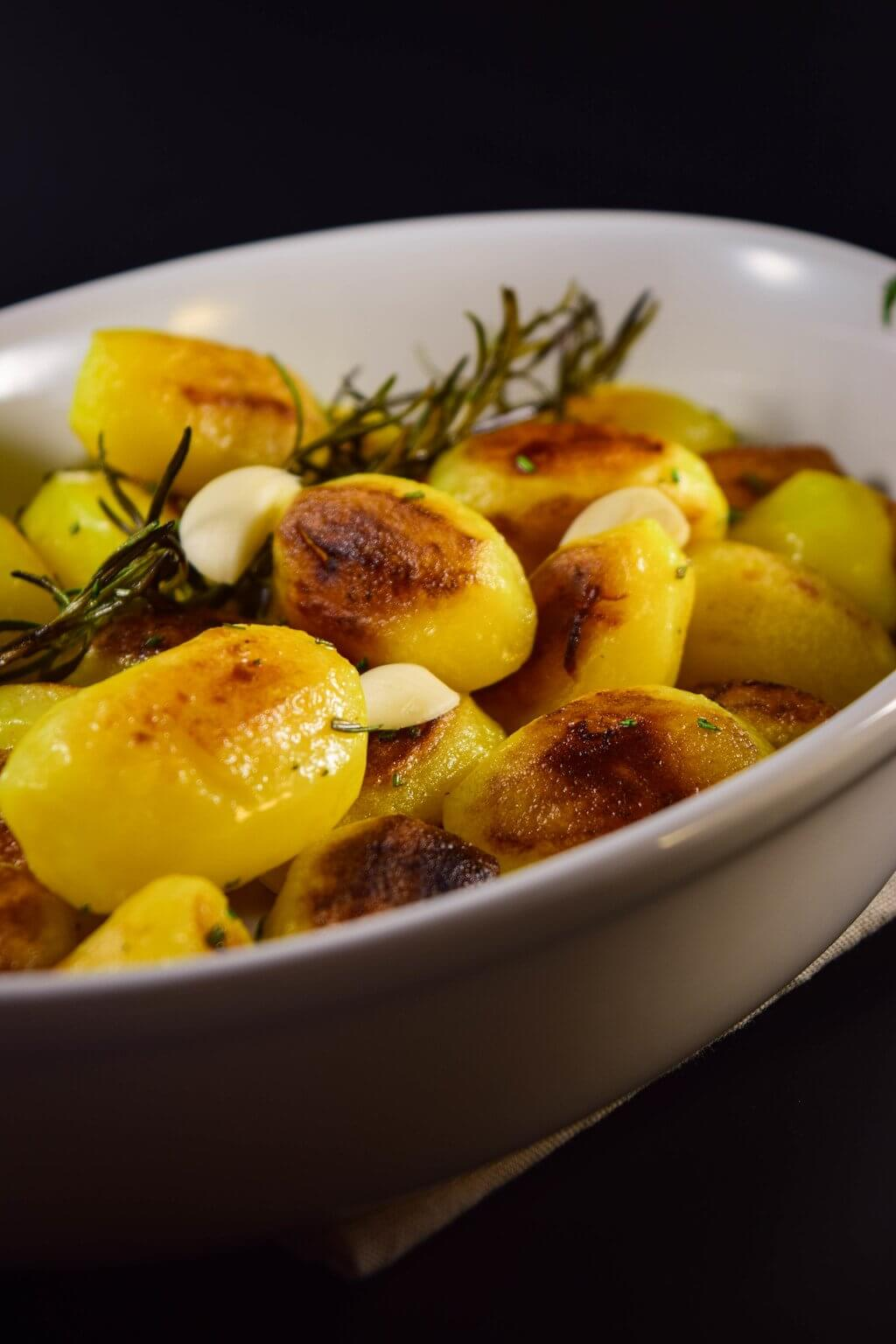 knusprige Rosmarinkartoffeln selber machen