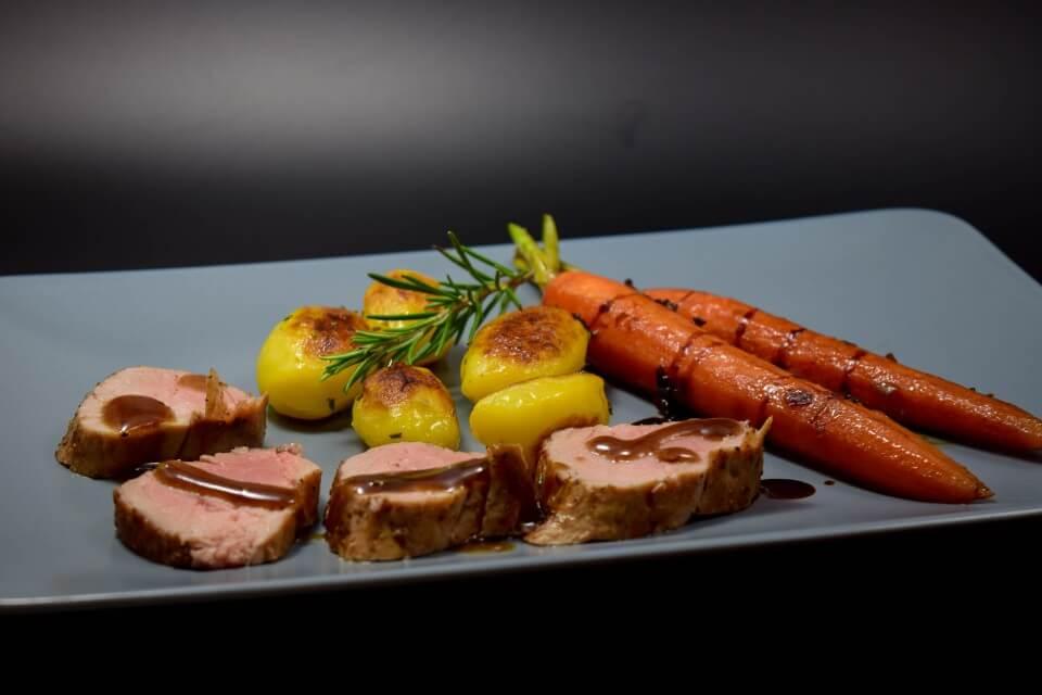 Rosmarin Balsamico Schweinefilet
