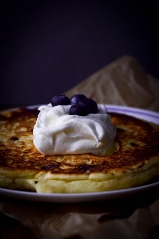 Blaubeer Pancakes