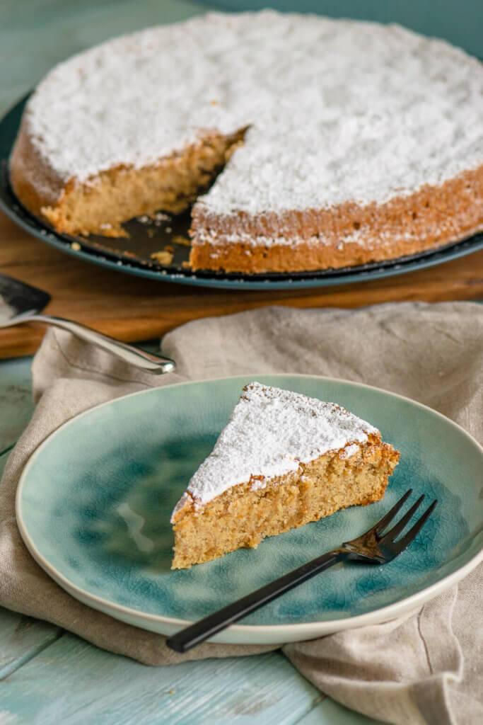 So lecker, fluffig und ohne Mehl - fluffiger Kuchen mit Mandeln - Mallorquinischer Mandelkuchen