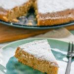 Kuchen ohne Mehl - Mallorquinischer Mandelkuchen
