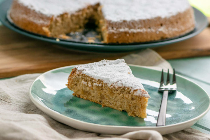 Mega lecker & saftig - Mallorquinischer Mandelkuchen
