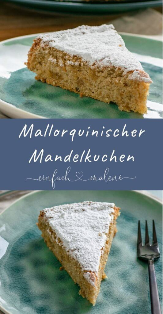Das Geheimnis für den unglaublich saftig & leichten Mallorquinischen Mandelkuchen ohne Mehl ist Eischnee. So wird der Mandelkuchen besonders fluffig und er schmeckt so lecker nach Marzipan!