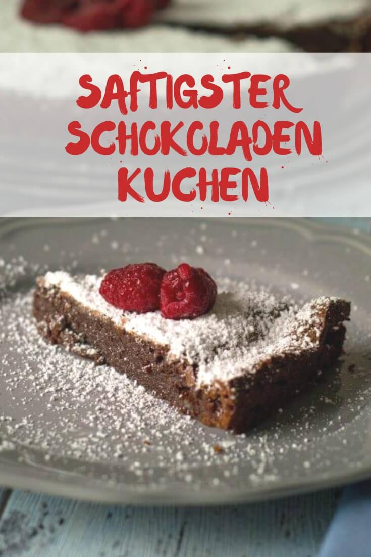 Franzosische Schokoladentarte Schokoladiger Geht S Kaum
