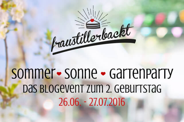 Blogevent Gartenparty