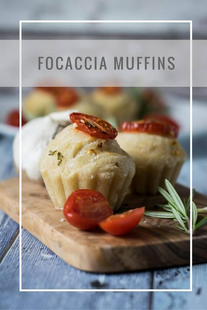 leckere Foccacia Muffins