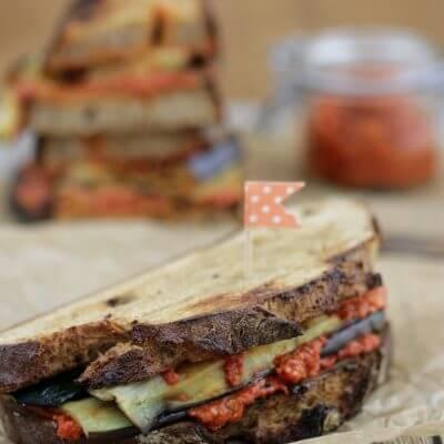 Vegetarisches Grill Sandwich [Gastbeitrag von Tulpentag]