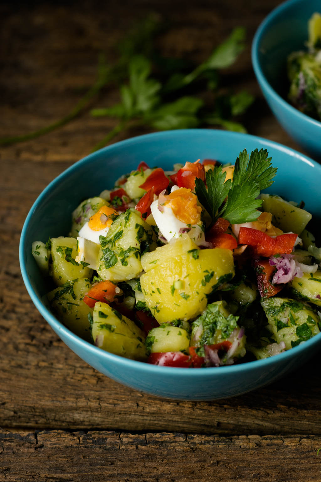 Sommerfeelng pur mit diesem türkischen Kartoffelsalat
