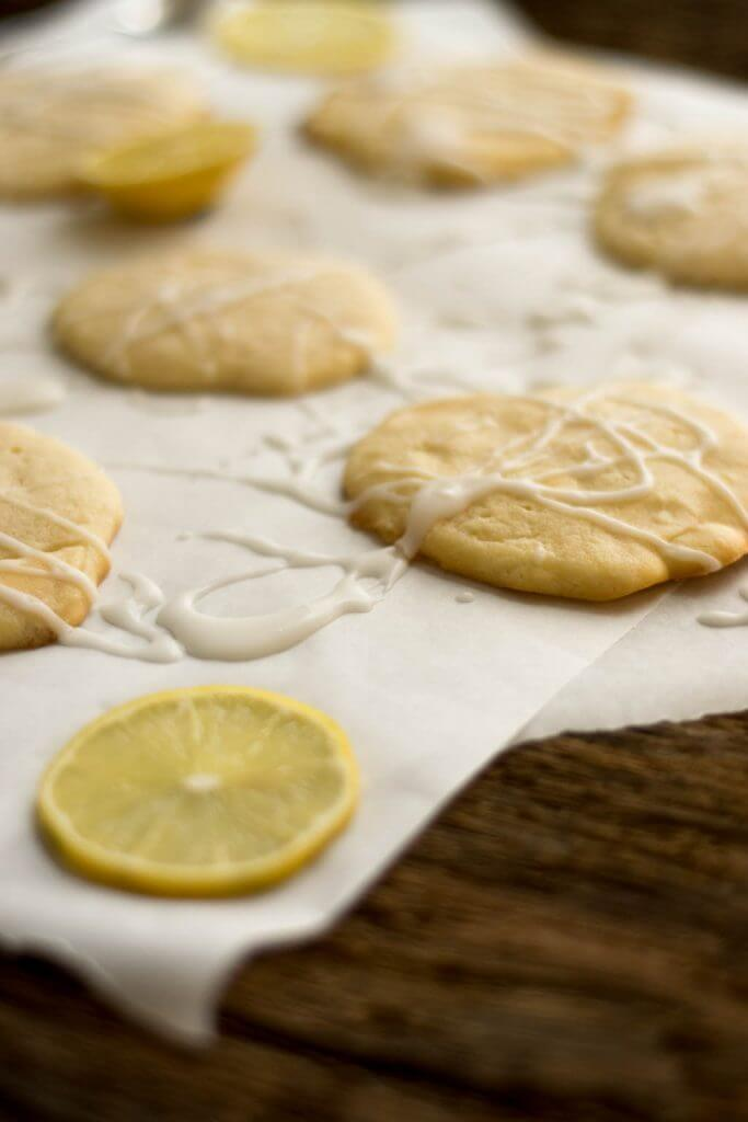 Super weiche Zitronencookies