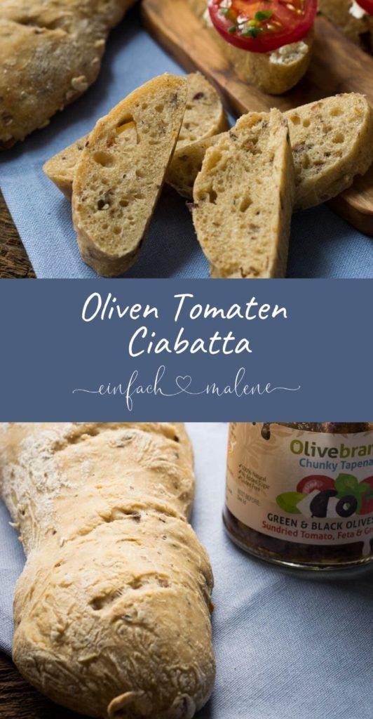Super lecker & einfach - Tomaten Oliven Brot - Ich habe mich immer gefragt, wie man ein leckeres saftiges Brot mit Oliven und Tomate selber machen kann. Heute lüfte ich das Geheimnis für euch!