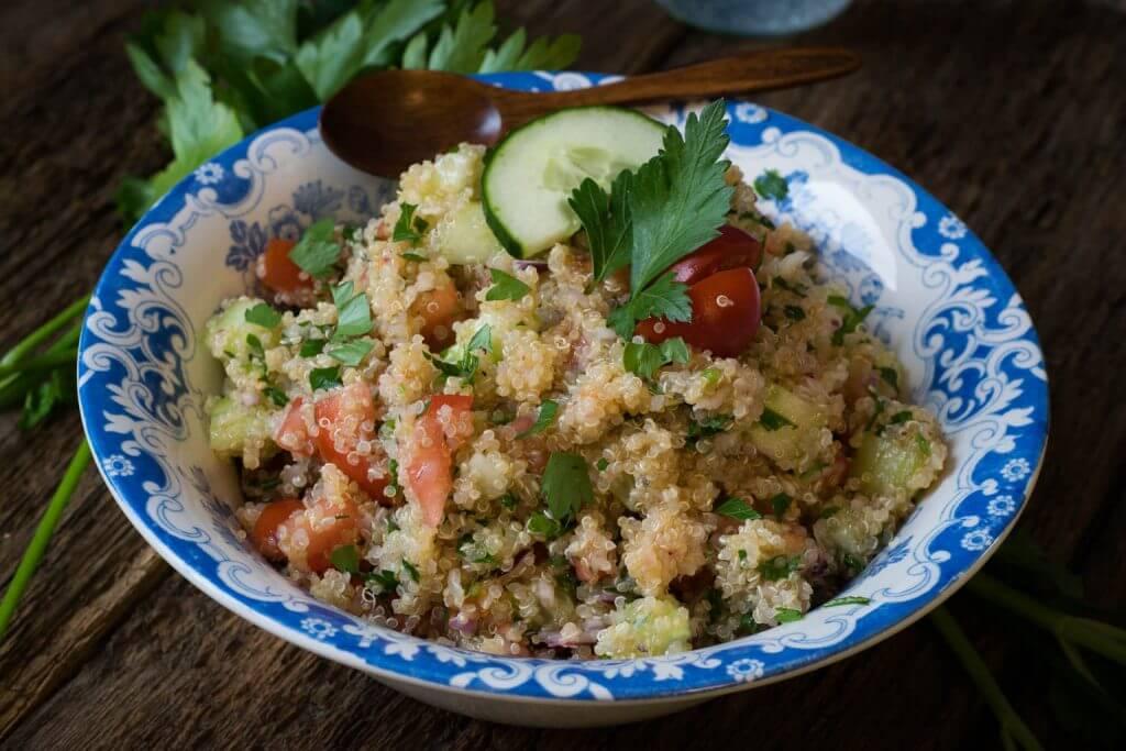 Rezept für Quinoa Taboulé