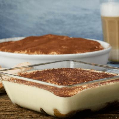 Glutenfreies Tiramisu zur Einweihung unseres neuen Kaffeevollautomaten