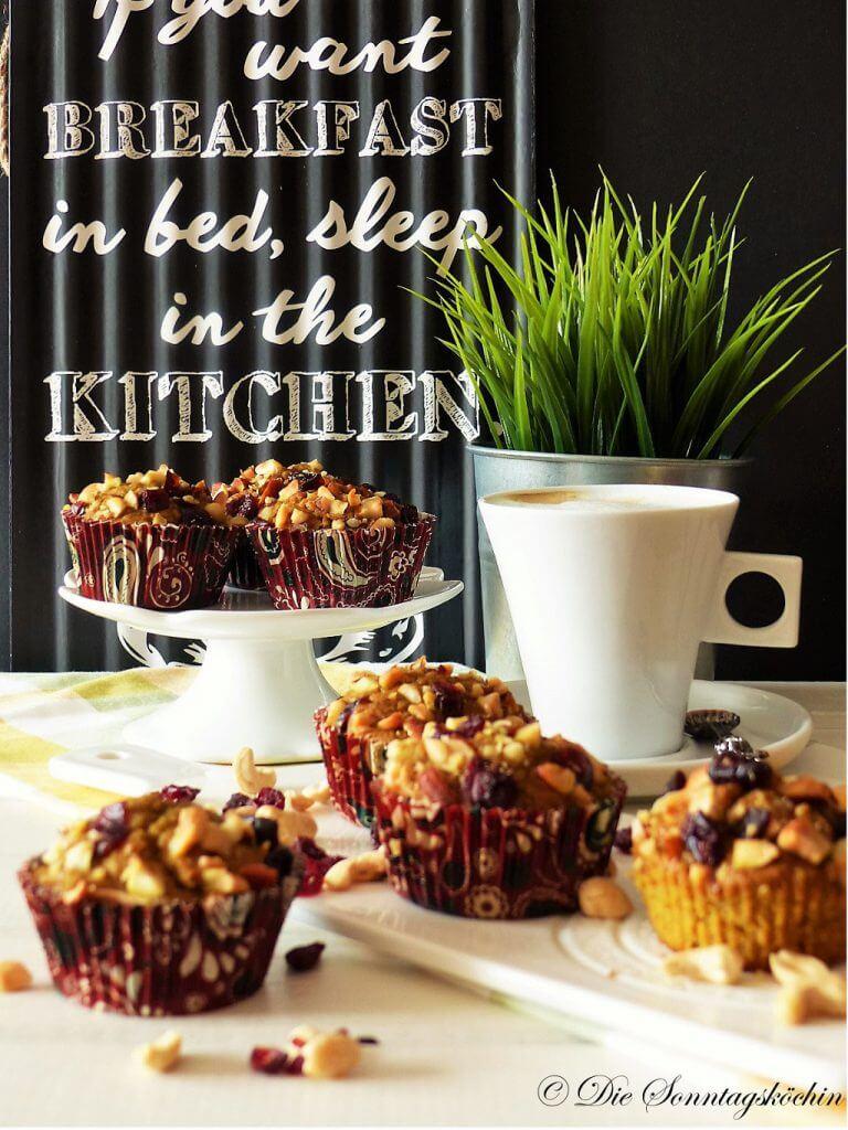 Rezept für FrühstücksMuffins