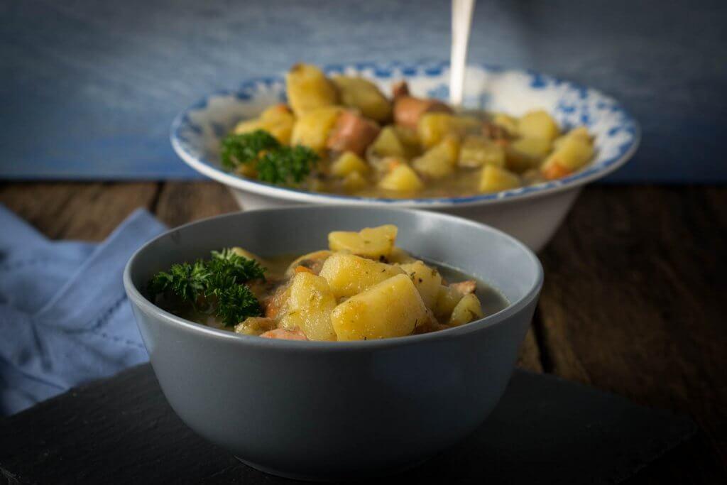 Super leckere Kartoffelsuppe