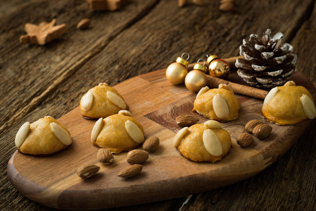 Super lecker - Marzipan Kekse zu Weihnachten - Bethmännchen