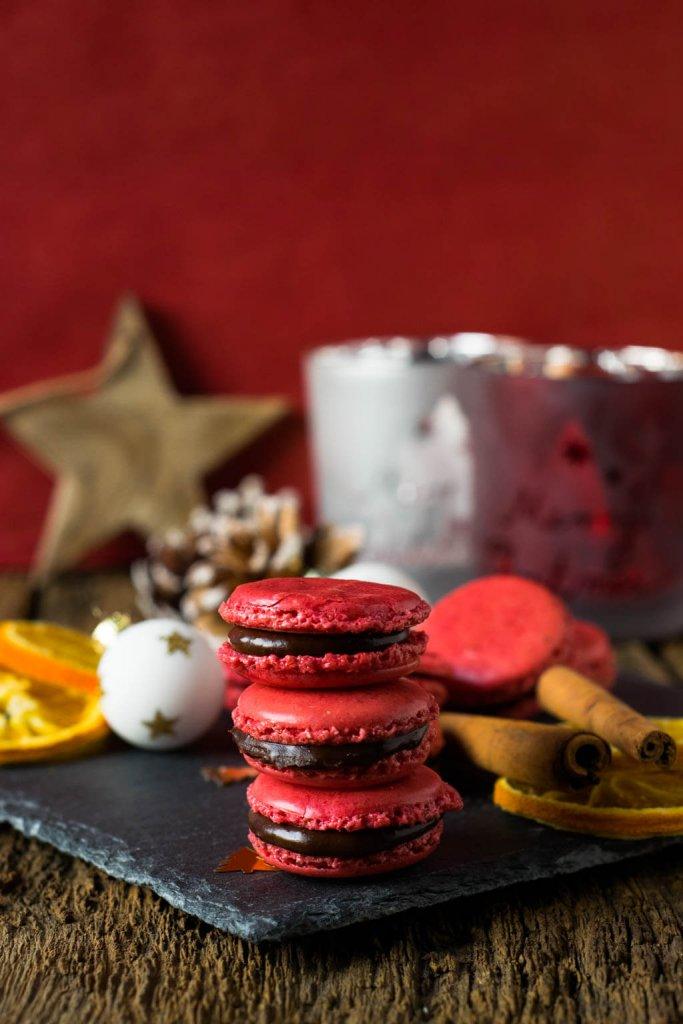 Genial & lecker sind diese Weihnachts-Macarons