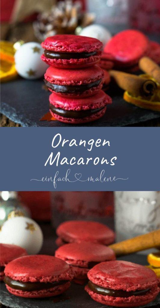 Einfach genial: Schoko Orangen Macarons für die Adventszeit. Weihnachtsplätzchen mal anders, denn diese Schoko Orangen Macarons schmecken einfach köstlich und passen perfekt in die Vorweihnachtszeit. Lecker & genial