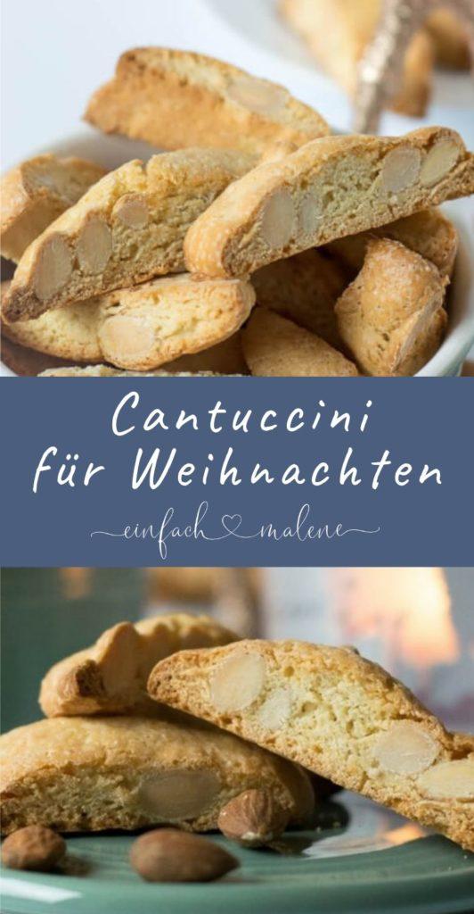 Einfaches Rezept für super leckere Cantuccini mit nur wenigen Zutaten. Dieses kleine italienische Mandelgebäck schmeckt super lecker in der Vorweihnachtszeit und diese Cantuccini sind ganz einfach zu selbst zu backen.